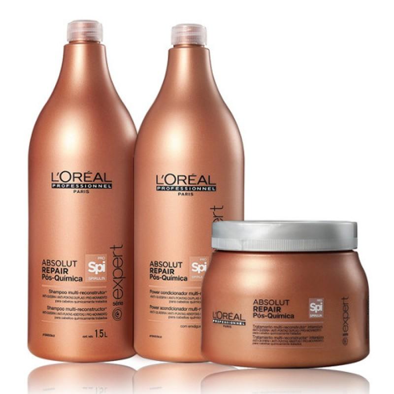 ca6789d06 Kit Absolut Repair Pós Química -L'Oréal – Reluz Distribuidora